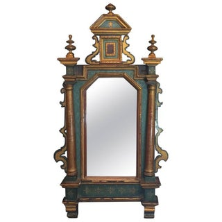 Venetian Antique Hand Painted Mirror