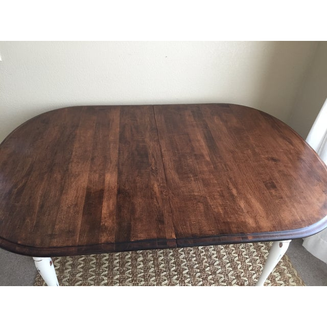 Vintage Restored Dining Table - Image 4 of 9