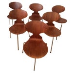 Image of Arne Jacobsen Ant Dining Chairs - Set of 6