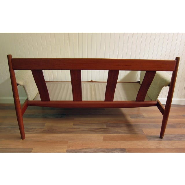 Image of Grete Jalk Mid-Century Two Seat Settee
