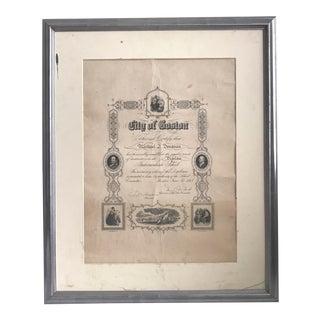 Boston Diploma - Vintage