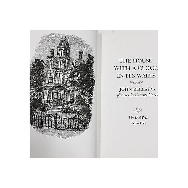 Image of The House With a Clock in its Walls Book