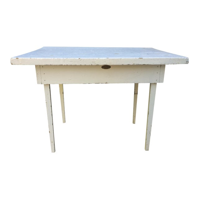 Image of Rachel Ashwell Shabby Chic Vintage White End Table