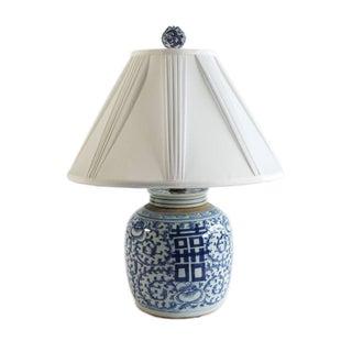 Classic Blue & White Chinoiserie Lamp