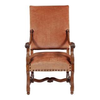 Antique French Renaissance Revival Style Armchair