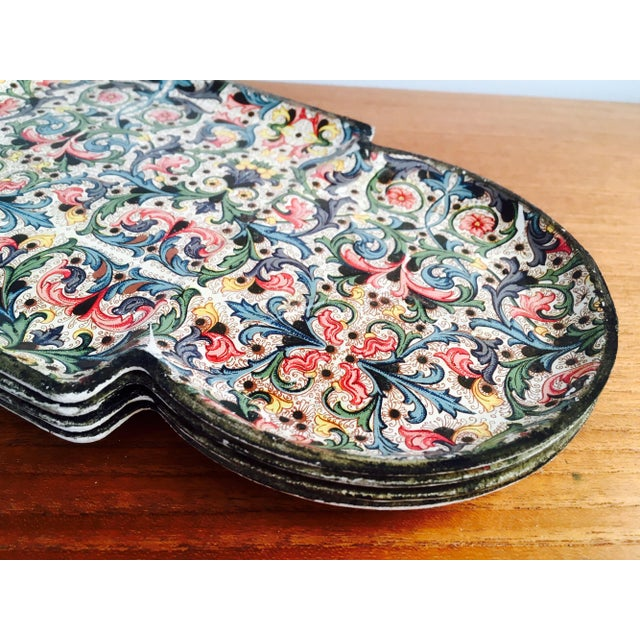 Image of 1960's Mod Stacking Serving Plates