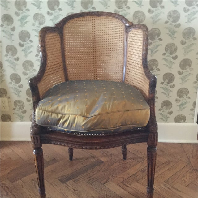 Image of Italian Caned Chairs - A Pair