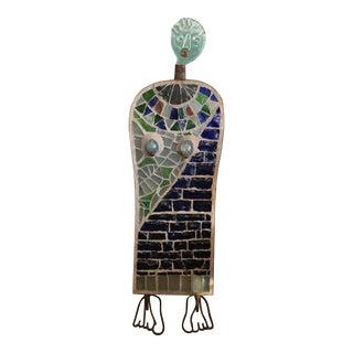 Dalle De Verre Sculpture