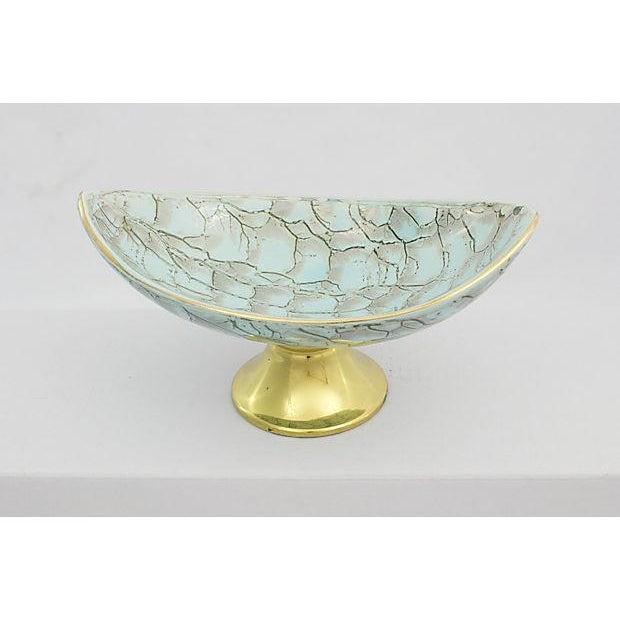 Delft Porcelain Pedestal Bowl - Image 3 of 5
