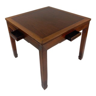 Chinese Handmade Rosewood Mahjong Game Table