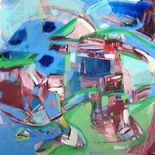 """Enlighten"" Abstract Painting"