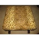 Image of Ralph Lauren Leopard Fabric Bench