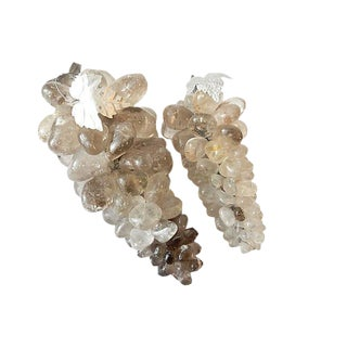 LG Crystal Quartz Grapes, S/2