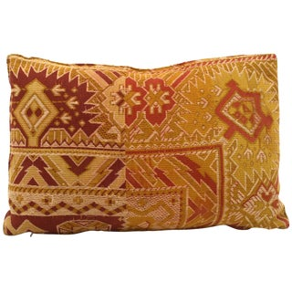 Antique French Tapestry Pillow