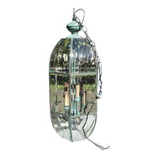 Oxidized Glass Entry Light