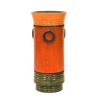 Bitossi Mid-Century Aldo Londi Bullseye Vase
