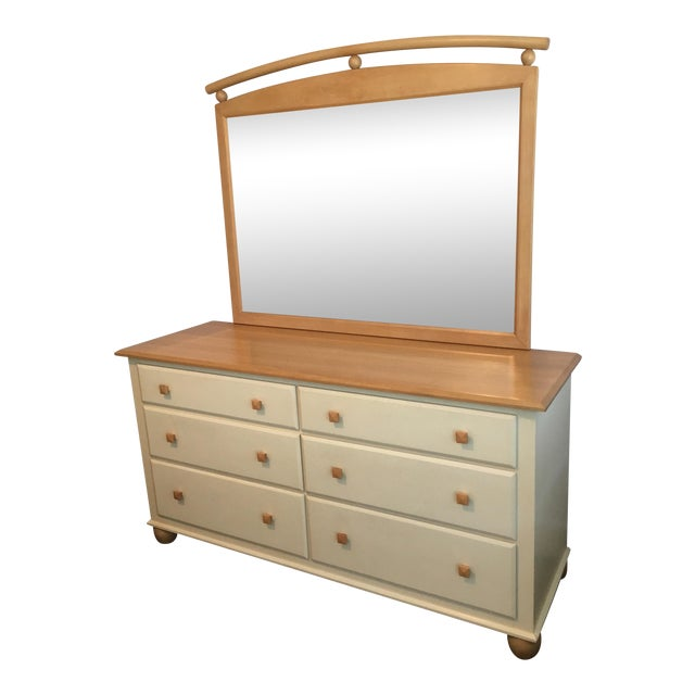Ethan Allen American Dimensions Collection Maple Dresser - Image 1 of 9