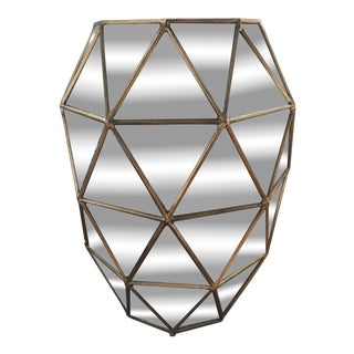 Bernhardt Interiors Coletta Geometric Side Table