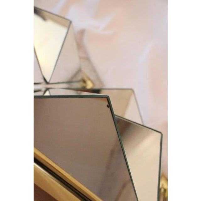 Mid-Century Modern Prism Mirror - Image 4 of 7