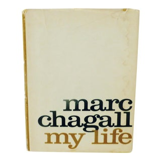 """My Life"" Illustrated Book by Marc Chagall"