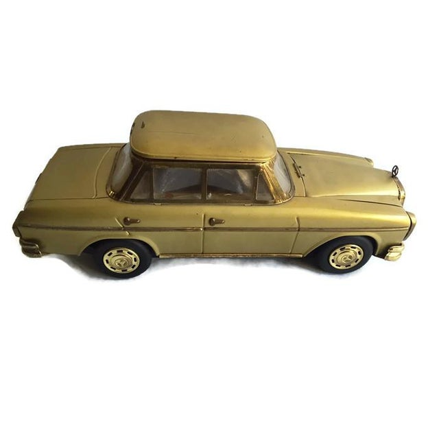 Image of Mid Century Mercedes Decanter Set - Set of 6