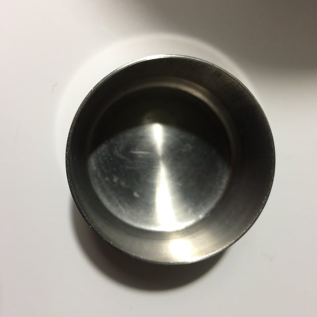 Mid-Century Stainless Steel 24 oz Cocktail Shaker - Image 8 of 10
