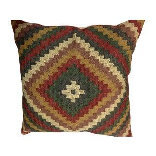 Vintage Turkish Kilim Throw Pillow