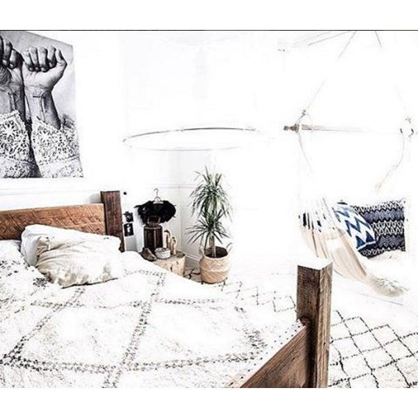 """Java Ripples"" Indigo Handwoven Ikat Pillow Cover - Image 3 of 5"