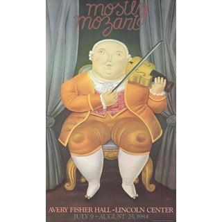 """Mostly Mozart"" by Fernando Botero"