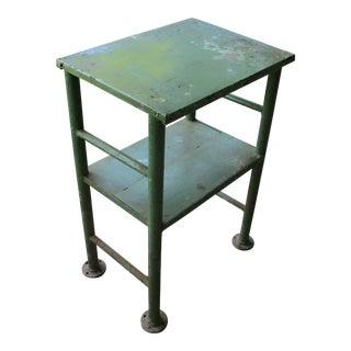 Industrial Metal Work Table