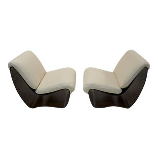 Very Rare 1950 Pair of Plycraft Chairs by Norman Cherner