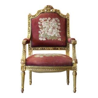 Louis XV Fauteuil Armchair
