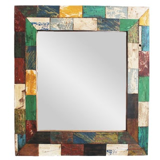 Boat Wood Mirror Frame