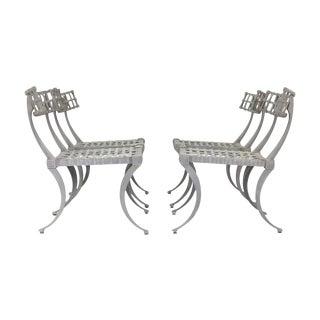 Thinline Klismos Chairs - Set of Four