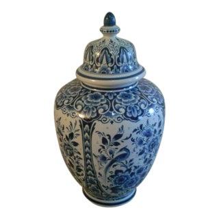 Delft Blue & White Ginger Jar