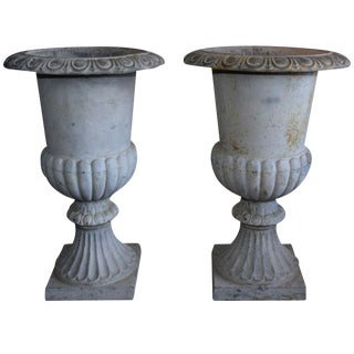 Monumental French Urns - A Pair