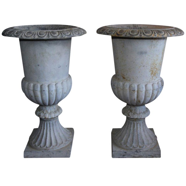Image of Monumental French Urns - A Pair