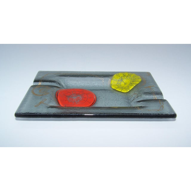 Higgins Mid-Century Art Glass Ashtray - Image 7 of 10