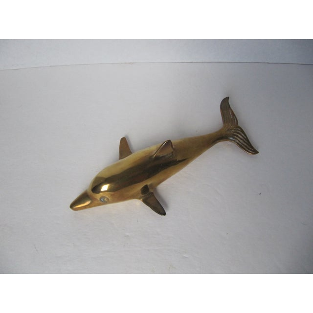 Brass Dolphin - Image 3 of 3