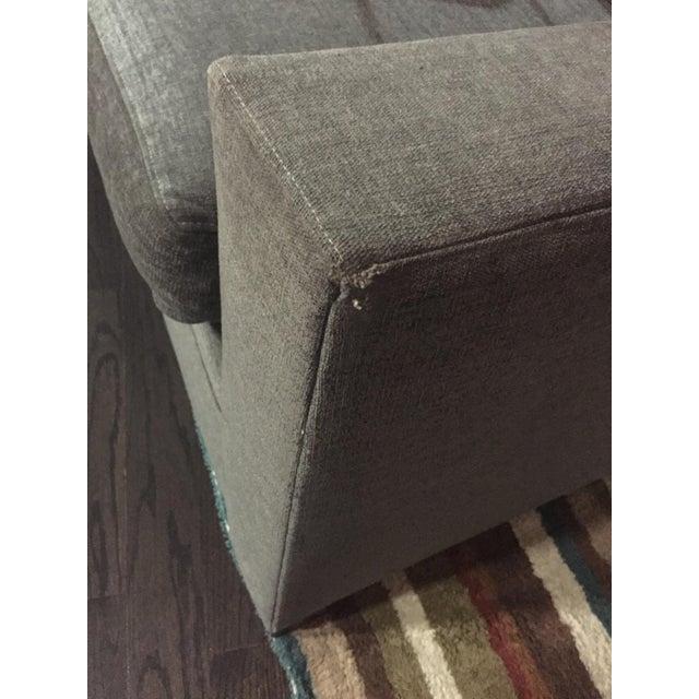 Henredon Contemporary Gray Sofa - Image 7 of 7