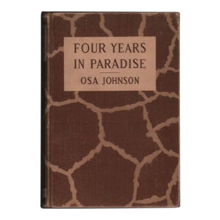 Vintage 1940s 'Four Years in Paradise' Book