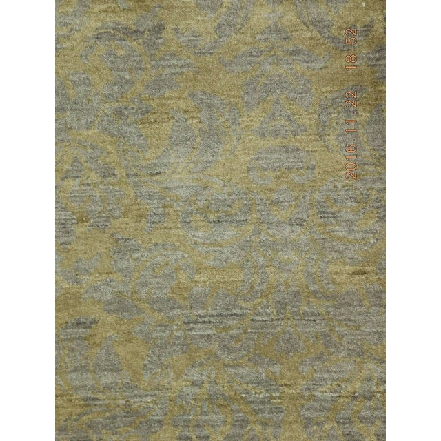 """Hand-Knotted Contemporary Rug - 6'x 9'5"""" - Image 5 of 10"""
