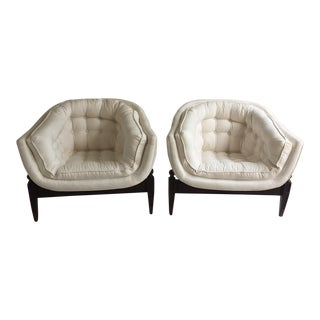 Pearsall Style Lounge Chairs - a Pair