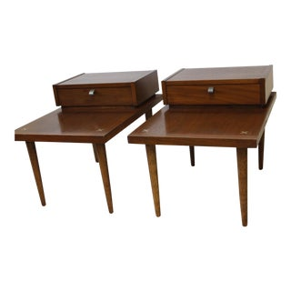 American of Martinsville Lamp Tables - A Pair