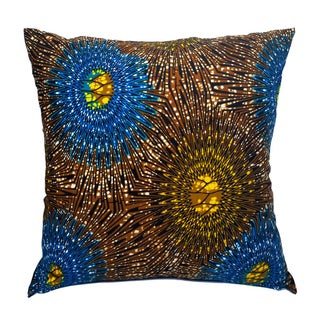 Sample Sale XL Wax Print Pillow Covers - a Pair