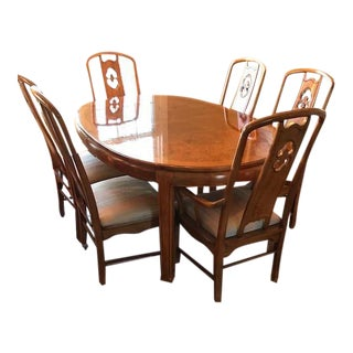 Thomasville Chinoiserie Style Dining Set - Set of 7