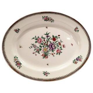 "English Copeland Spode Oval Serving Platter,"" Lowestoft"""