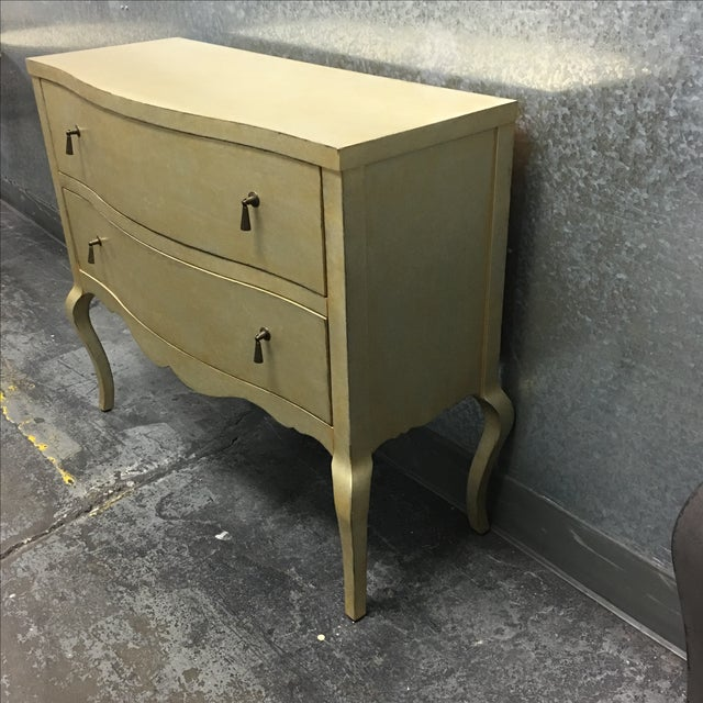 Two Drawer Dresser with Metallic Finish - Image 6 of 11