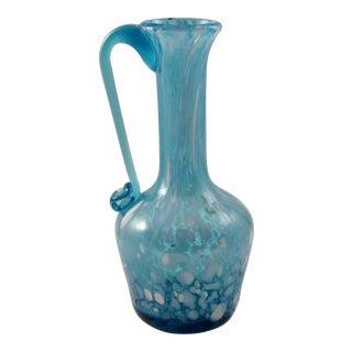 Mid-Century Spatter Glass Cruet