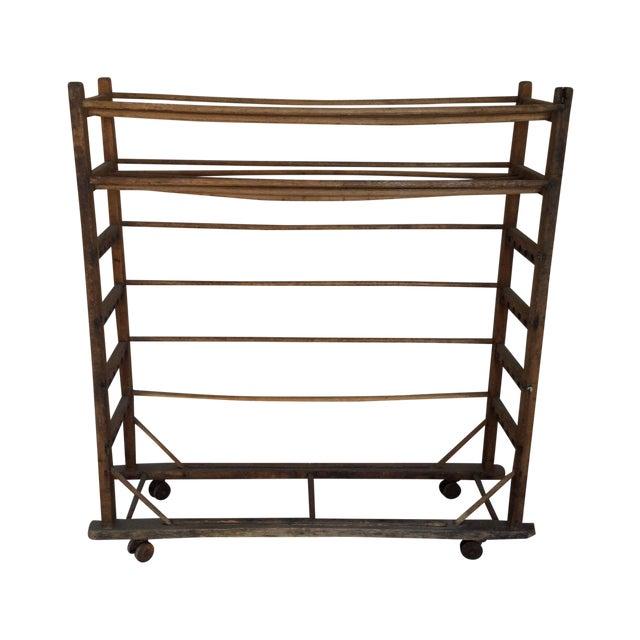 Antique Wooden Rack - Image 1 of 6